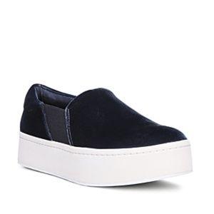 Vince Warren Platform Slip-On Sneaker Vintage Blue